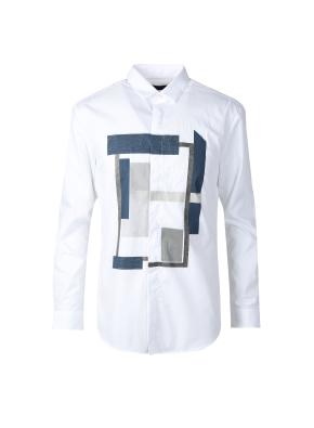 원포인트 프린트 셔츠