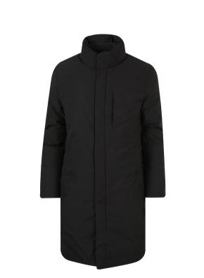 구스다운 하이넥 코트 (BK)
