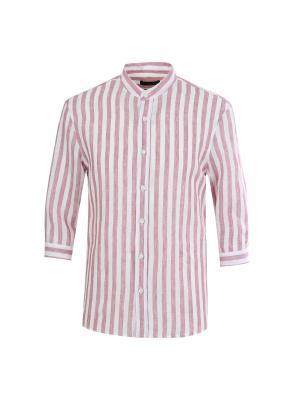 린넨 스트라이프 7부 캐쥬얼 셔츠 (PK)