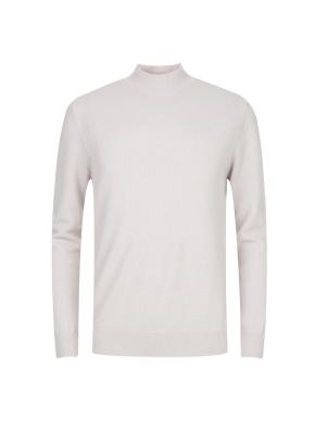울캐시혼방 반터틀넥 스웨터 (IV)