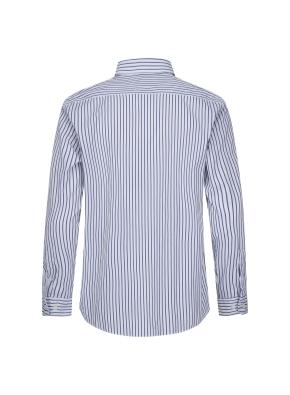 코튼 멀티 스트라이프 셔츠