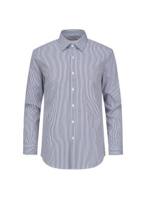 면혼방 런던스트라이프 드레스셔츠