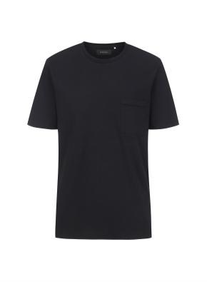 코튼 포켓 THE GREAT 티셔츠(BK)