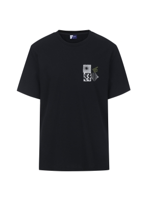 그래픽 THE GREAT 티셔츠 (BKA)