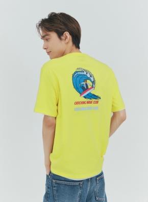 그래픽 THE GREAT 티셔츠 (YE)