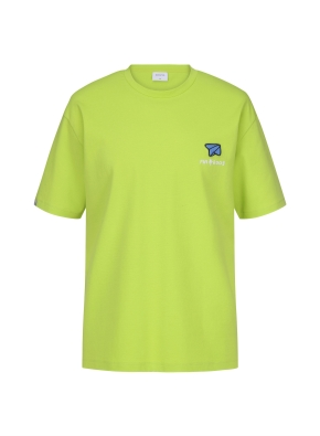 [NOVO X 지오지아] BACK 프린트 오버핏 티셔츠(LM)