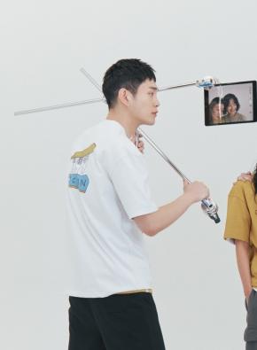 [NOVO X 지오지아] 그래픽 오션 오버핏 티셔츠(WT)