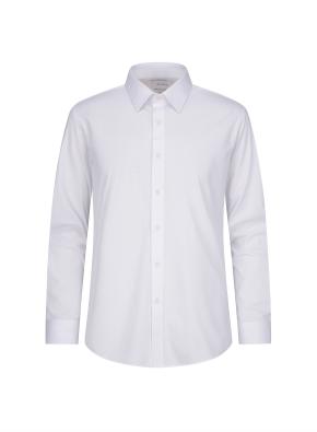 트리코트 솔리드 미라클 셔츠 (WT)