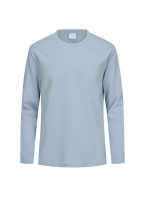 코튼 혼방 라운드 티셔츠