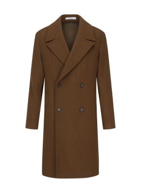 클래식 더블버튼 누빔 코트
