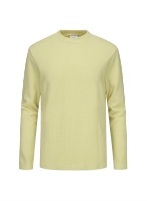 하프 모크넥 데일리 티셔츠