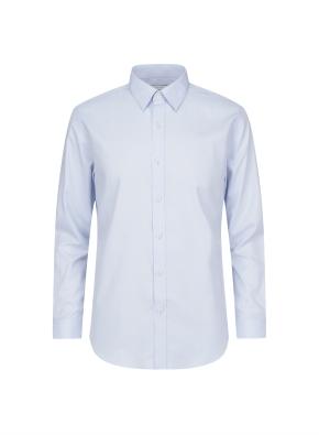 폴리 레이온 혼방 드레스셔츠 (BL)