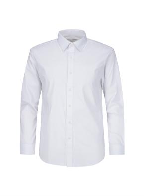 코튼 폴리 혼방 드레스셔츠 (WT)