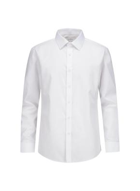 솔리드 슬림핏 드레스셔츠