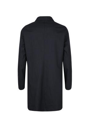 싱글 울본딩 발마칸 코트