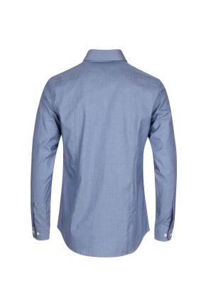 아문젠 와이드카라 드레스셔츠 (BL)