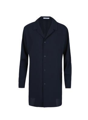 폴리 셔츠형 코트