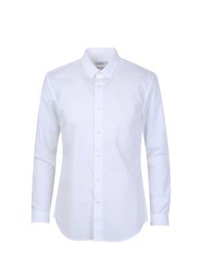 도비조직 포인트 드레스 셔츠