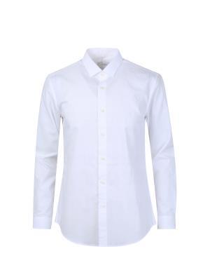 도비조직 배색 드레스 셔츠