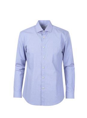 코튼스판 체크패턴 캐쥬얼 셔츠 (NV)