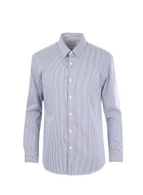 스판 코튼 나일론  트윌조직 드레스 셔츠 (NV)