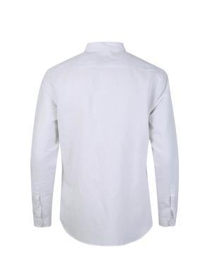 린넨 코튼 배색 캐쥬얼 셔츠