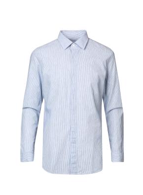 코튼 시어서커 스트라이프 캐쥬얼 셔츠