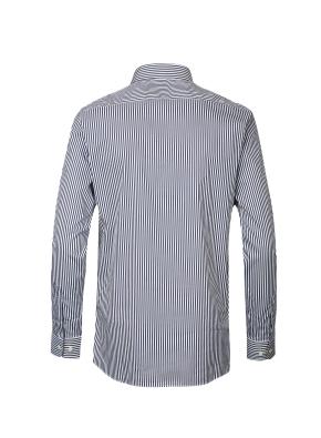 스판 코튼 혼방 스트라이프 드레스 셔츠