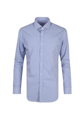 스판 코튼 스트라이프 드레스 셔츠