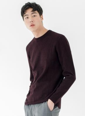 모혼방 더블립 스웨터 (WN)