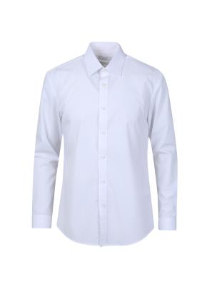 스판 레이온 혼방 드레스 셔츠 (WT)