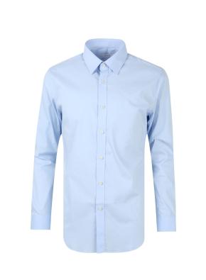 레귤러카라 스판 코튼 혼방 드레스 셔츠 (BL)