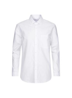 옥스포드 솔리드 캐쥬얼 셔츠 (WT)