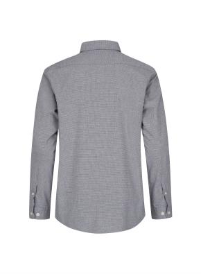 마이크로 패턴 코튼 셔츠(GR)