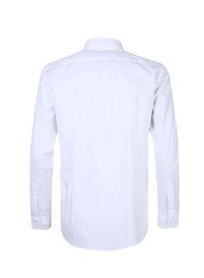 스판 코튼 혼방 드레스 셔츠 (WT)