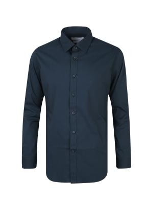 스판 코튼 드레스 셔츠 (NV)