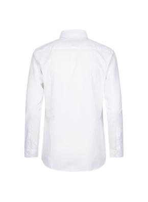 코튼 혼방 드레스 셔츠 (WT)