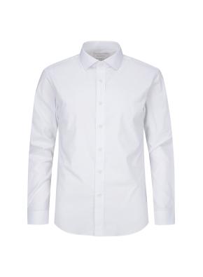 스판 코튼 혼방 드레스 셔츠