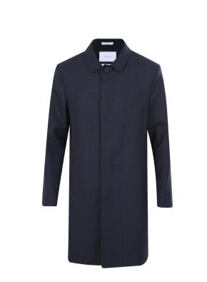 울혼방 발마칸 코트 (NV)
