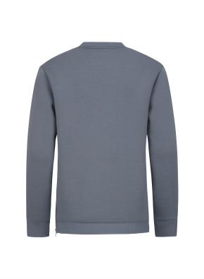 패치 포켓 네오플렌 라운드 티셔츠