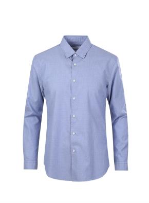 아문젠 조직 캐쥬얼 셔츠 (BL)