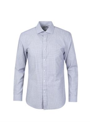마이크로 도비조직 드레스 셔츠