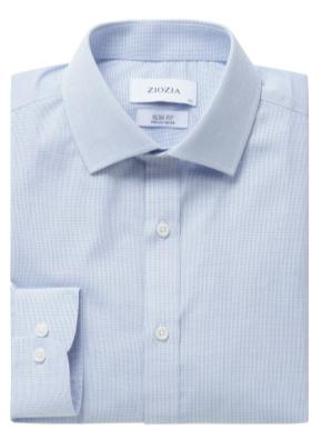 폴리혼방 슬림핏 드레스셔츠 (PBL)