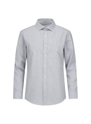 폴리혼방 슬림핏 드레스셔츠 (PGR)