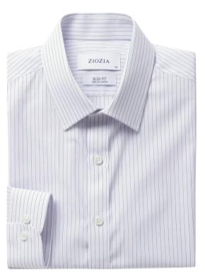폴리혼방 슬림핏 드레스셔츠 (SBL)