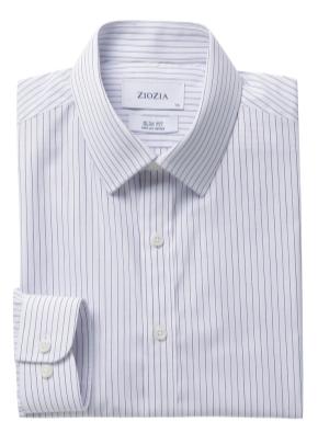 폴리혼방 슬림핏 드레스셔츠 (SDN)