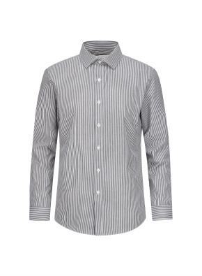 폴리혼방 슬림핏 드레스셔츠 (SGR)