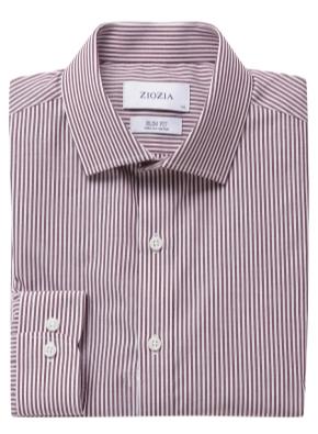 폴리혼방 슬림핏 드레스셔츠 (SWN)