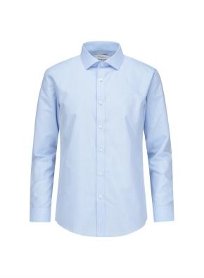 폴리혼방 멜란지 드레스셔츠 (MBL)