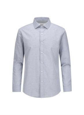 폴리혼방 멜란지 드레스셔츠 (MGR)